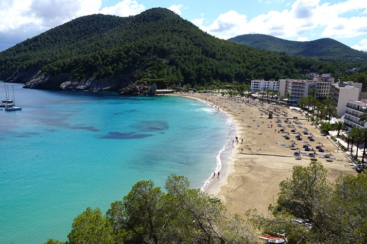playas de ibiza cala sant vicent norte